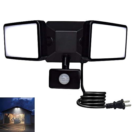 LED Floodlight Motion Sensor Security 300Watt Wall Light Outdoor PIR Flood Light
