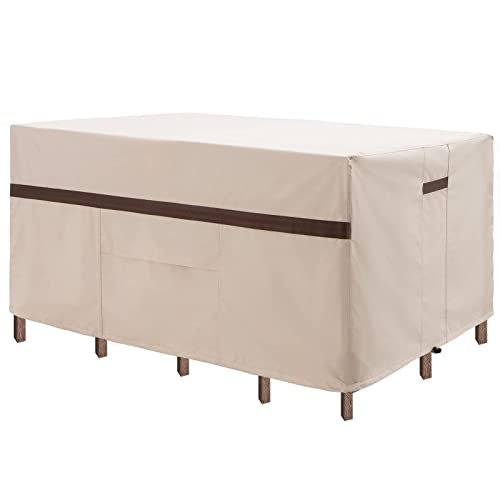 Patio Rectangular Table And Chair, Patio Table Covers Rectangular