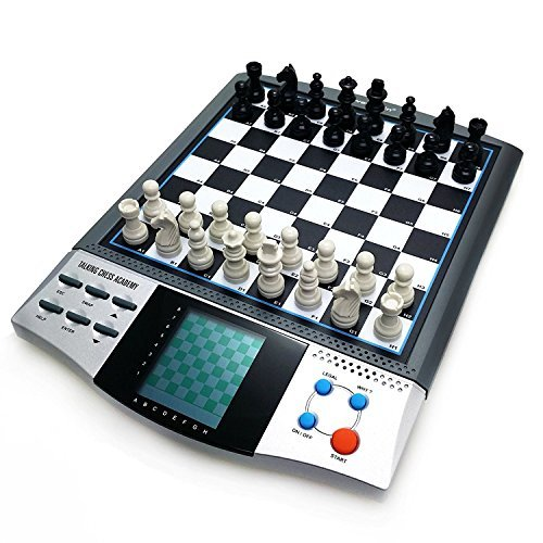 iCore Magnet Chess Sets Board Game, Electronics Travel Talking Checkers  Master Pro 8 in 1, Portable Chessboard Tournament for Kids and Adults