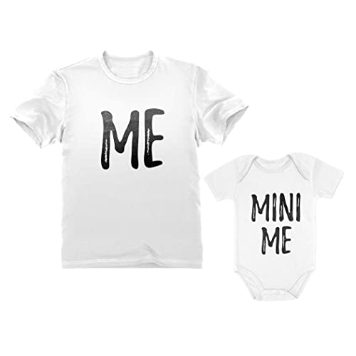 Battery Power Shirts Father Son Matching T-Shirts Daddy and Me Fathers Day Tee