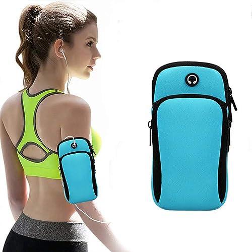 Sports Arm Bag Mobile Phone Holder Bag Running Gym Armband Exercise fithness