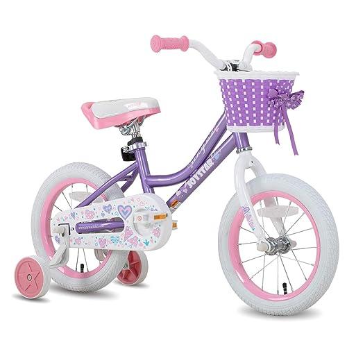 "Details about  /Joystar 18/"" Whizz Kids Bike Girls Bicycle Carbon Steel Frame w// Training Wheels"