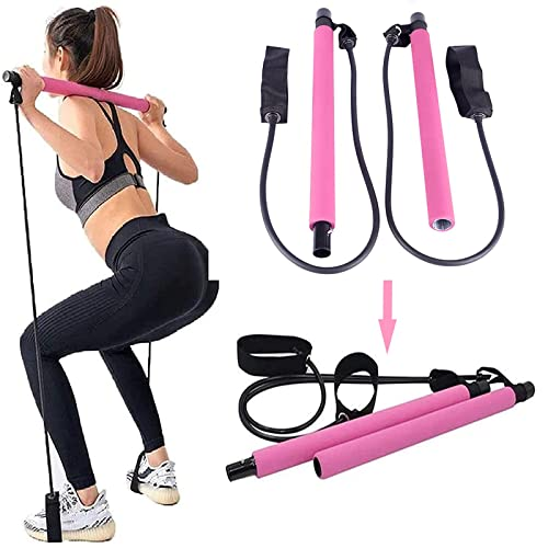 Yoga Resistance Band Fitness stretch excersize Pilates Bands Durable Yoga Strap