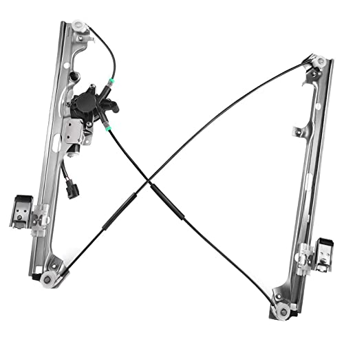 Power Window Regulator w// Motor Front Driver Side Left LH for Chevy GMC Cadillac
