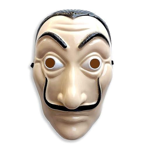 Carnival Set Kostüm Salvador Dali Casa De Papel Haus Des Geldes Maske 2019