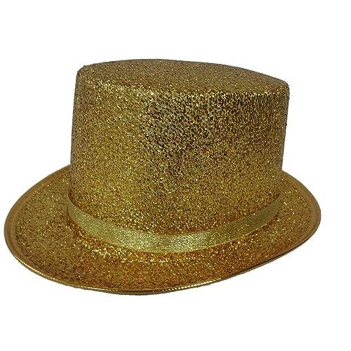 Adult Satin Purple Top Hat Fancy Dress Costume Accessory