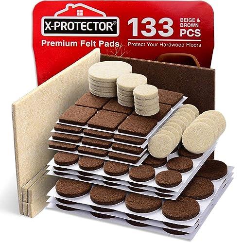 Felt Pads Furniture Feet Brown 106, Floor Protectors For Furniture