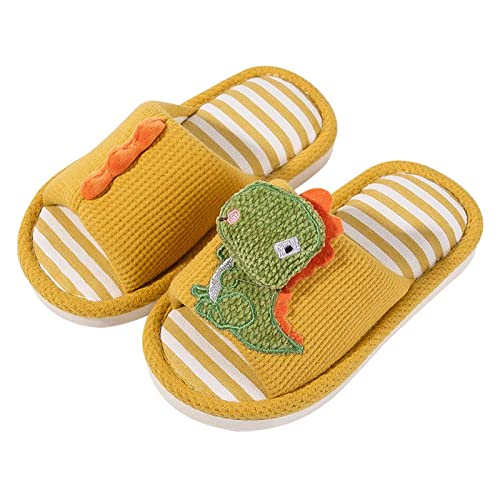 Fashion Toddler Baby Kids Boys Girls Indoors Cute Cartoon Sandals Slippers Shoes