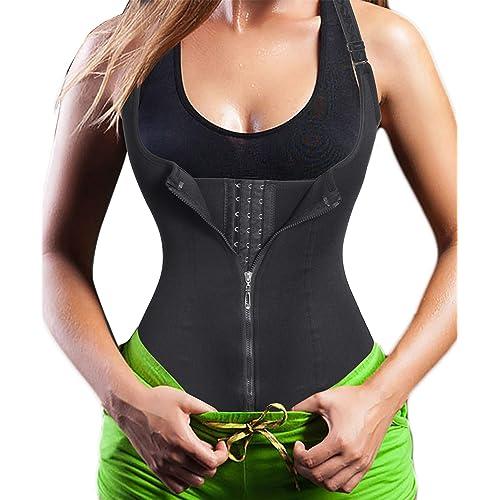 M-XL Waist Tummy Abdomen Brown Women Shaping Tops Shapewear Steel Boned Corset