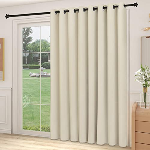 Yiumula Patio Door Blinds Vertical, What Size Curtains For Sliding Glass Doors