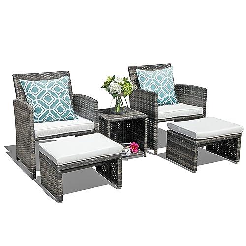 Oc Orange Casual Wicker Patio, Small Space Outdoor Furniture