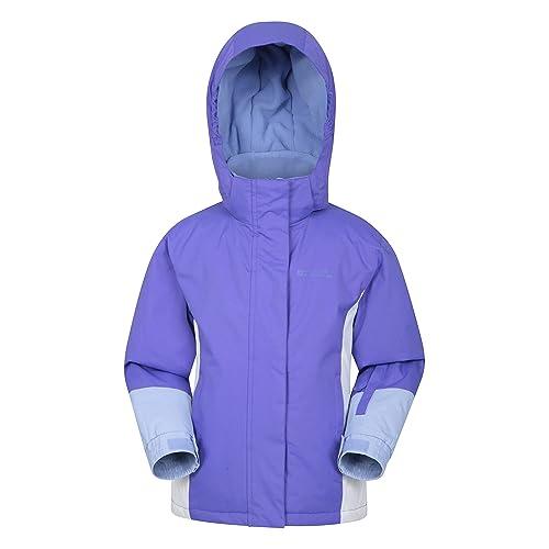 Mountain Warehouse Kids Ski Jacket Waterproof Fleece Lined Boys Girls Coat