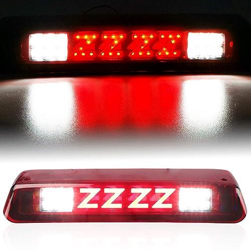 FOR 04-08 FORD F150 MARK LT THIRD 3RD TAIL BRAKE LIGHT CARGO LAMP RED LED BAR