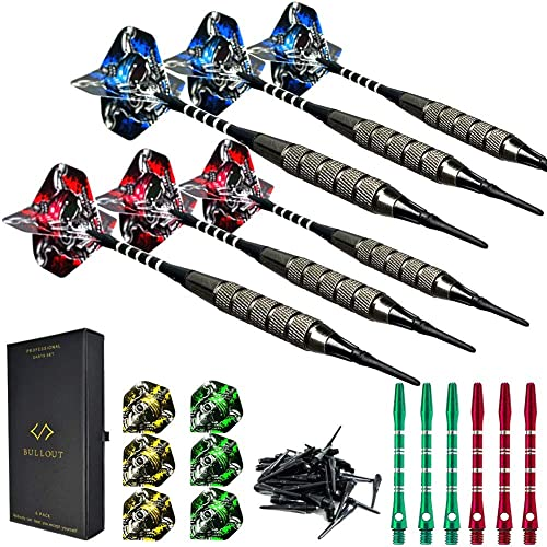 12pcs//set 50mm Darts Shafts 2BA Darts Shafts Throwings Toys red//black colors SI