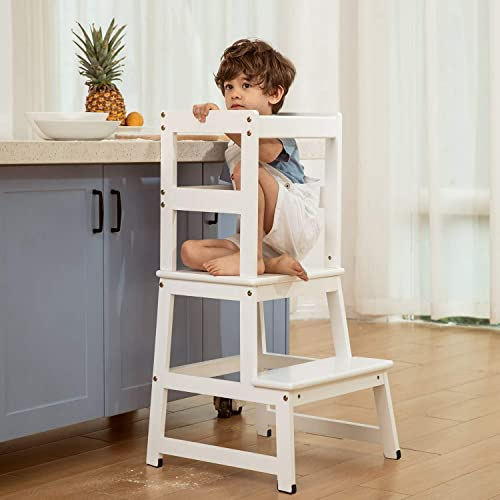 Buy Mangohood Kitchen Helper Step Stool For Kids And Toddlers Children Standing Learning Tower For Kitchen Counter Mothers Helper Online In Turkey B08n6gs955