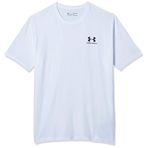 UNDER ARMOUR MENS LEFT CHEST LOCK UP SPRAY TEE SHIRT T-SHIRT SIZE LARGE RRP£23
