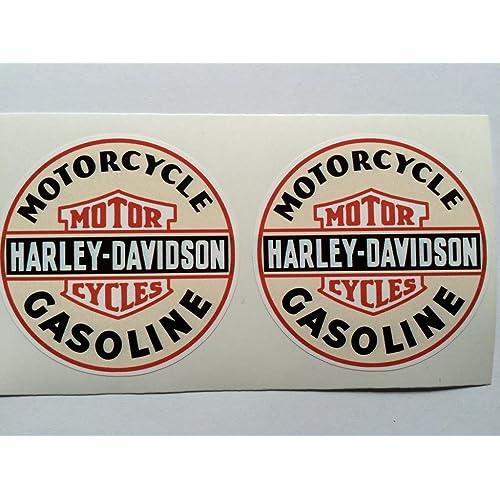 Harley Davidson Motorcycle Vintage Style Sticker Truck Car Toolbox Helmet Decal