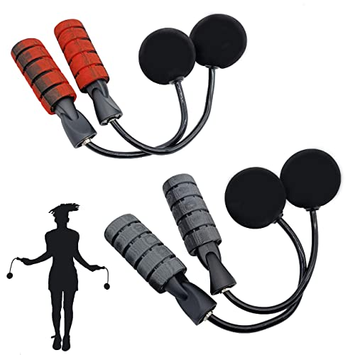 Jump Rope Cordless Skipping Ropeless Indoor Outdoor Train Weighted Skipping Gym