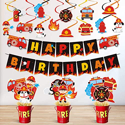 Fireman Party Ideas Party Ideas At Birthday In A Box