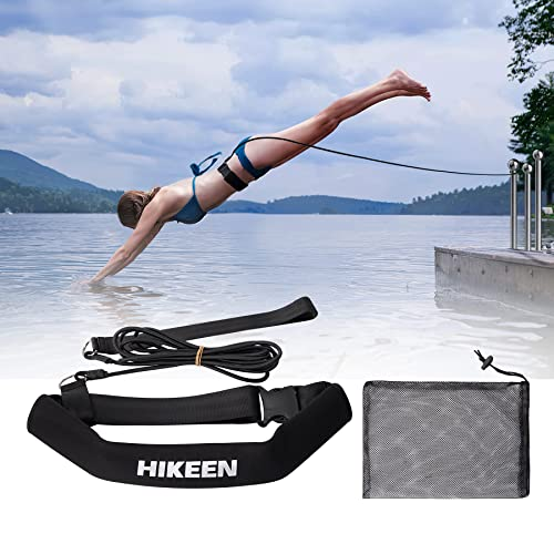 Stretch Cord with Paddles DRY LAND Pool Swim Swimming TRAINING Resistance Ho @qi
