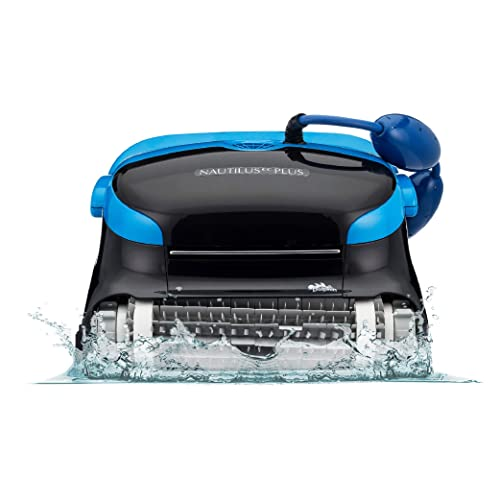 Buy Dolphin Nautilus Cc Plus Robotic Pool Vacuum Cleaner Ideal For In Ground Swimming Pools Up To 50 Feet Powerful Suction To Pick Up Small Debris Easy To Clean