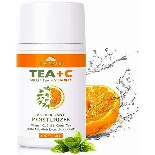 Buy LILY SADO Green Tea and Vitamin C Face Moisturizer Cream