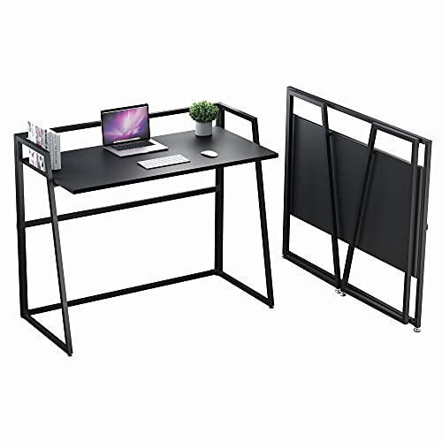 Eureka Ergonomic Folding Table 41 Inch, Portable Folding Computer Desk Laptop Table Workstation Furniture