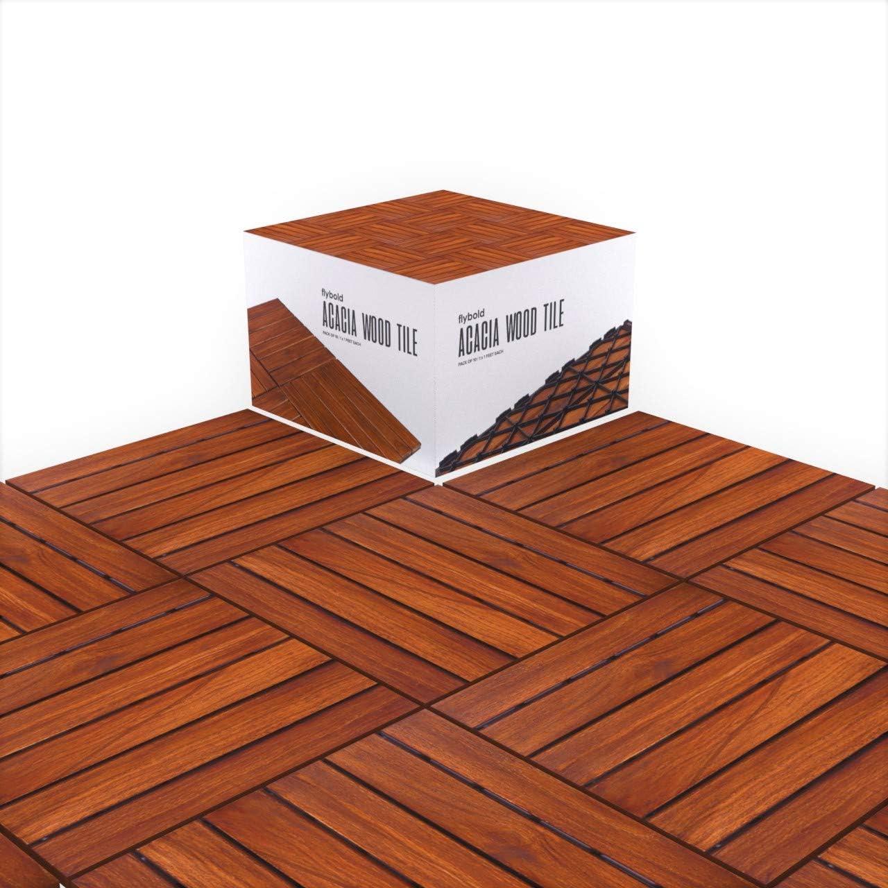 Acacia Wood Outdoor Flooring, Deck Laminate Flooring