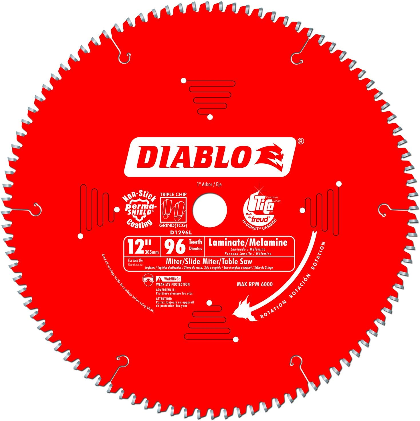 Diablo Melamine Laminate Flooring, What Saw Blade To Use For Cutting Laminate Flooring