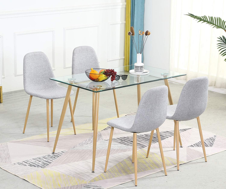 Modern Dining Room Table Set 5, Dining Room Sets For 4