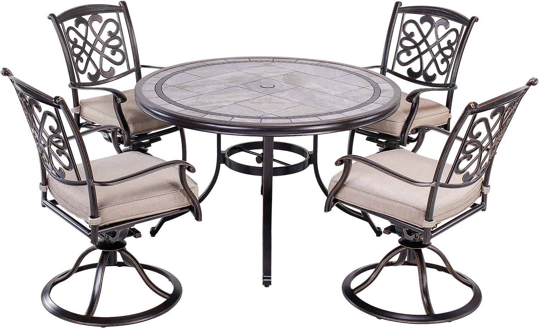 Buy dali 10 Piece Patio Dining Set Outdoor Furniture, Deep ...
