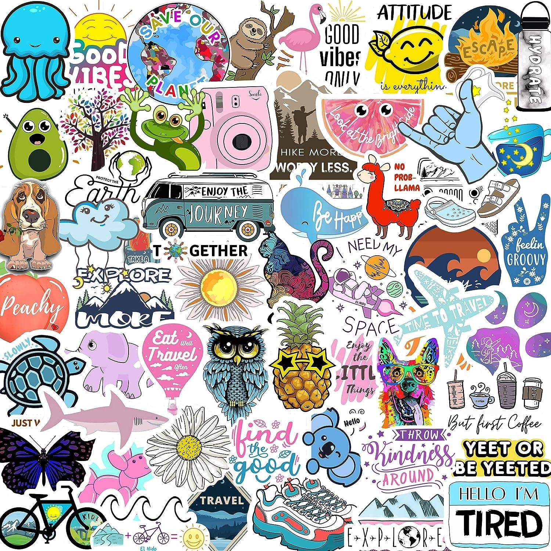 Buy El Nido Stickers For Water Bottles 70pcs Sticker Packs Cute Aesthetic Vsco Vinyl Stickers Phone Laptop Computer Skateboard Stickers Water Bottle Stickers Waterproof Stickers For Teens Kids Girls Online In Turkey